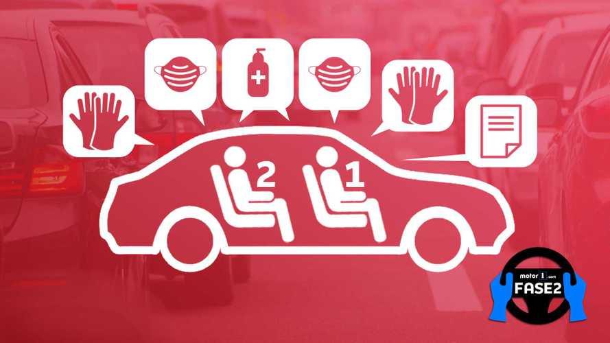"""Spostamenti in Auto, le """"regole d'oro"""" per muoversi nella Fase 2"""