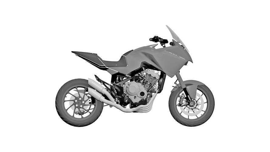 Honda al lavoro su una sport-touring a 4 cilindri