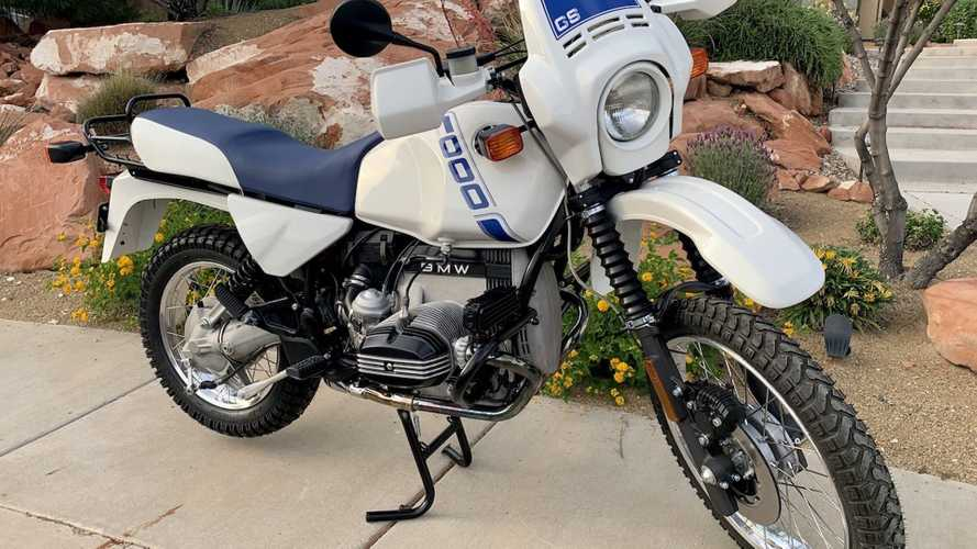 This 1988 BMW R100 GS Is Painstakingly Refurbished To Factory Condition