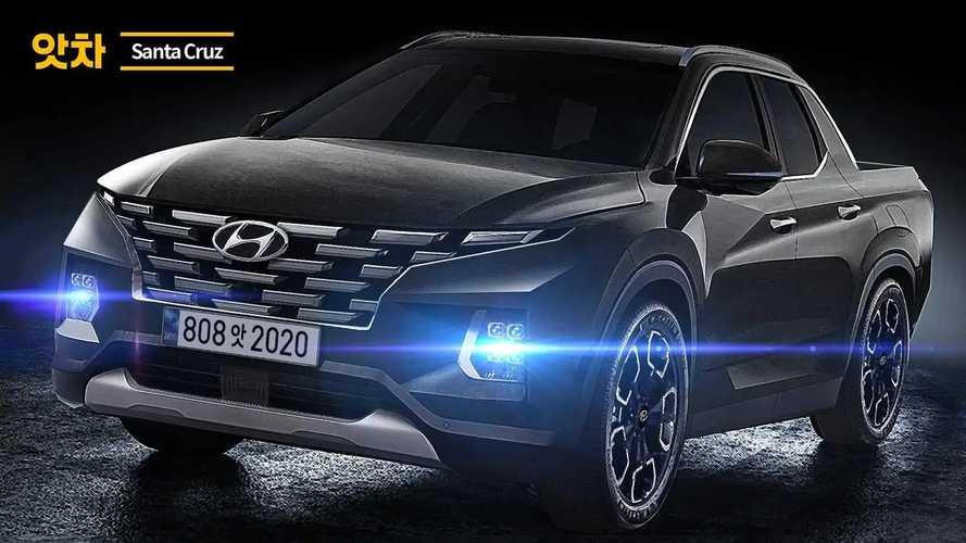 2021 Hyundai Santa Cruz new rendering