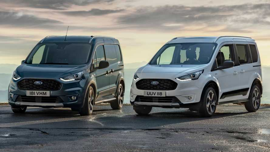Ford Transit And Tourneo Connect Vans Get Active