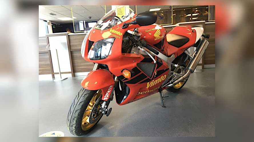 Rare 2000 Honda RC51 Joey Dunlop Replica To Hit Auction Block