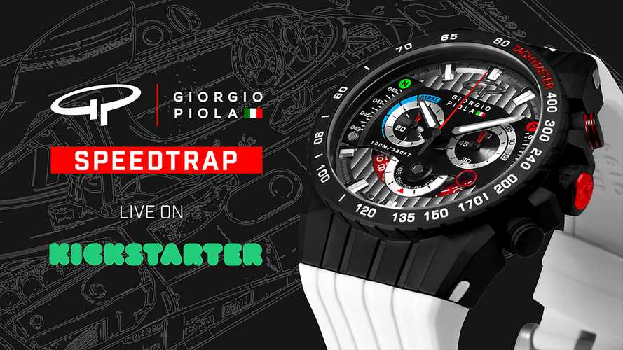 Back This Kickstarter And Win A Watch Designed By F1 Technical Artist Giorgio Piola