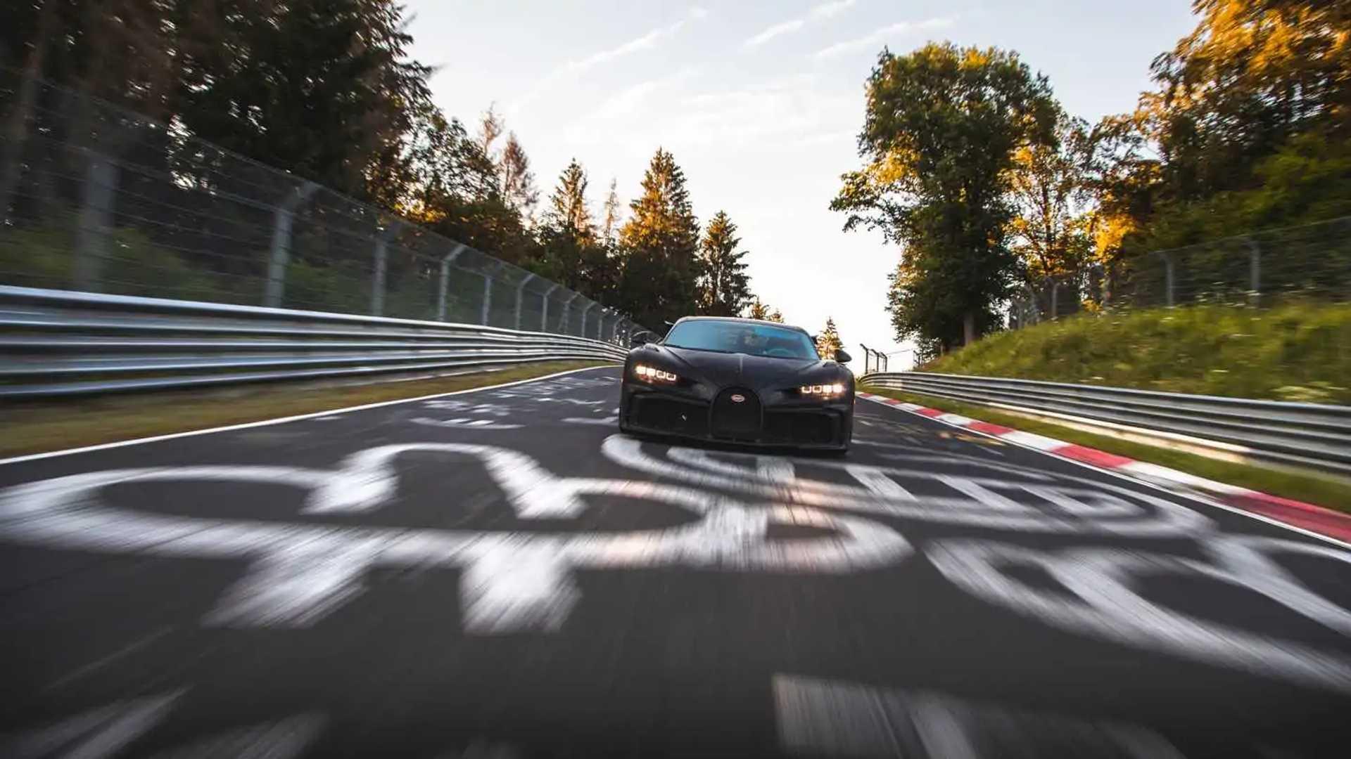 Bugatti Chiron Pur Sport at the Nurburgring