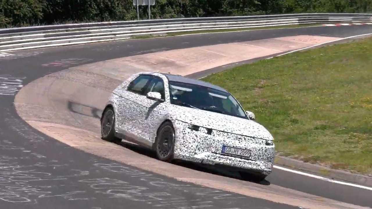 Hyundai Ioniq 5 от CarSpyMedia