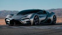 Hyperion XP1: Brennstoffzellen-Supersportler der Bugatti-Chiron-Liga