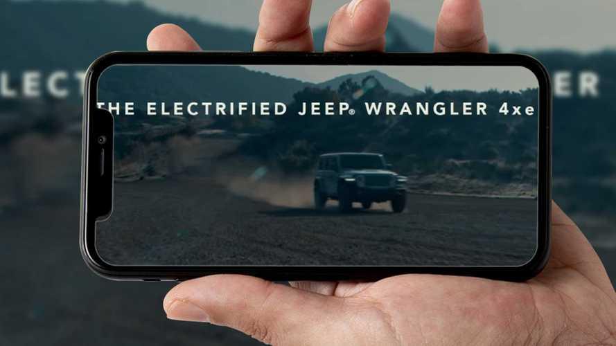 Jeep Wrangler ibrida, ecco il teaser all'insegna del silenzio