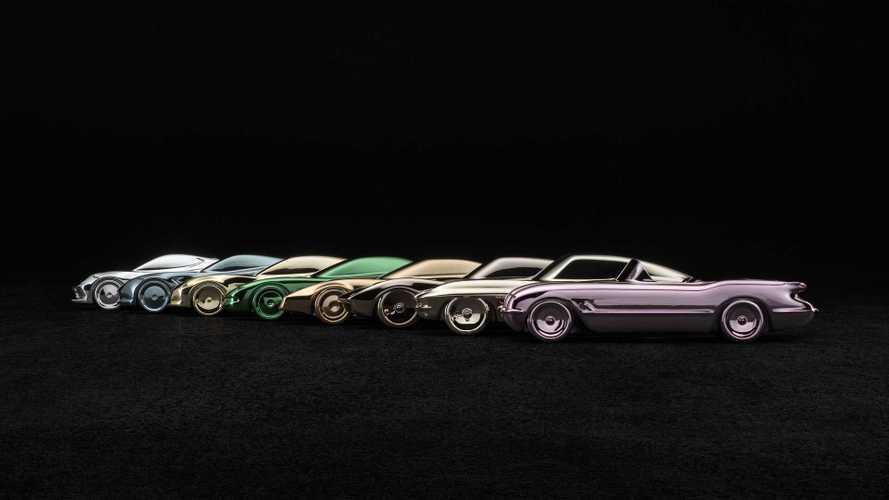 Corvette Sculpture Collection By Amalgam