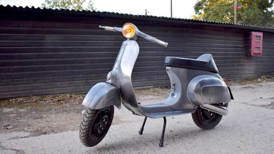 Bare-metal restomod Vespa might be the coolest scooter ever
