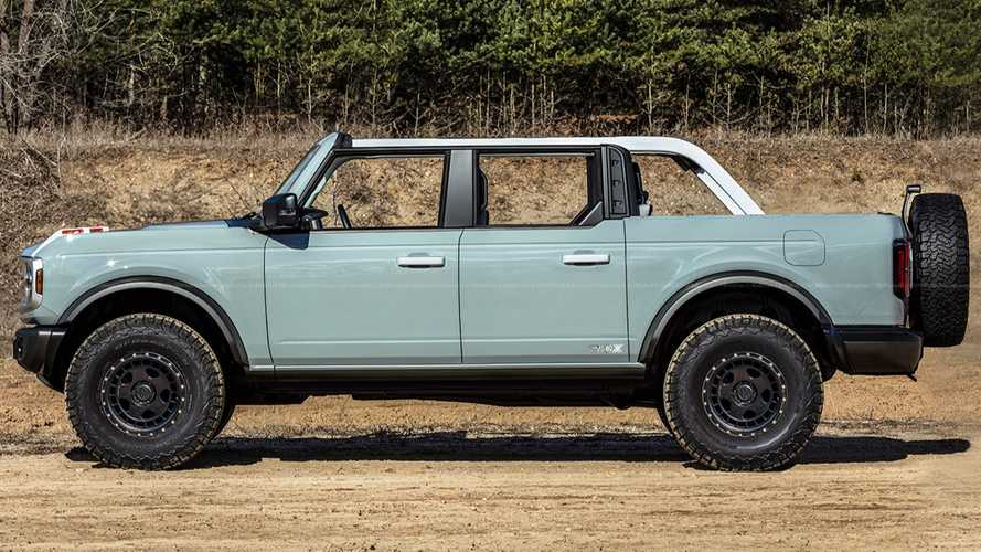 Ford Bronco Pick-up, pronto a sfidare Jeep Gladiator