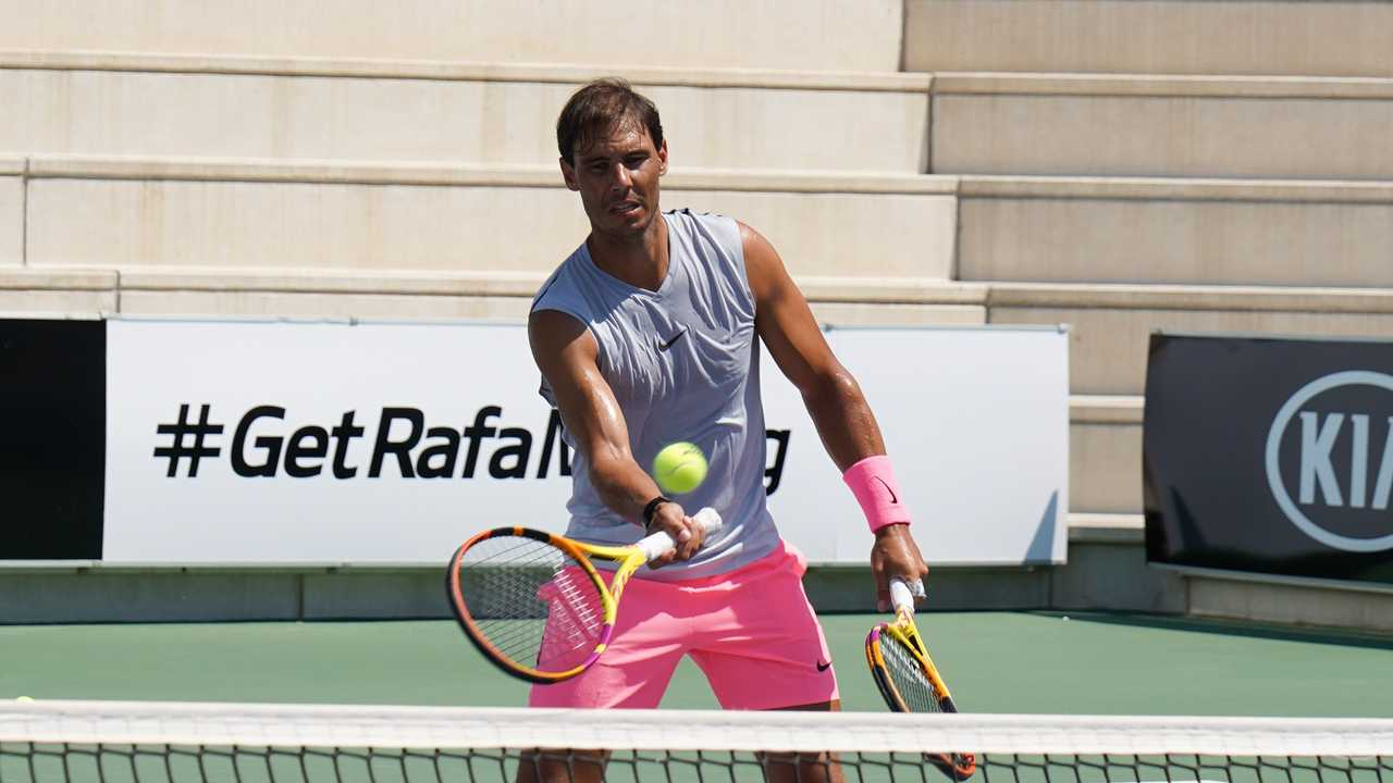 KIA y Rafa Nadal