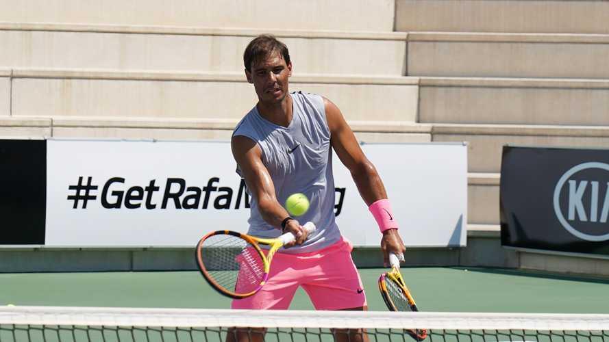 KIA amplía el contrato de patrocinio con Rafa Nadal cinco años más
