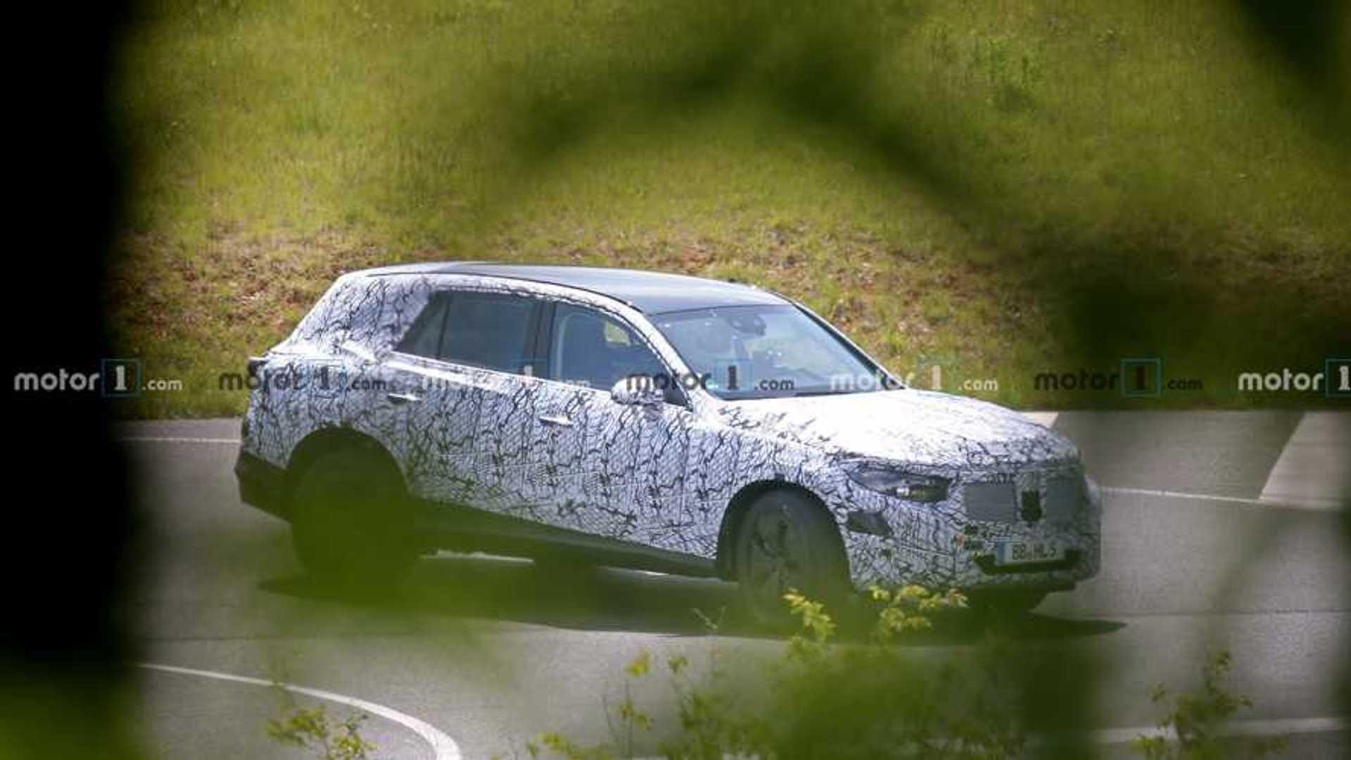2021 - [Mercedes-Benz] GLC II 2022-mercedes-glc-spy-photo