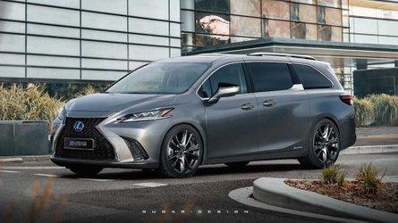 Lexus Minivan Based On New Sienna Would Make Incredible Exec Express