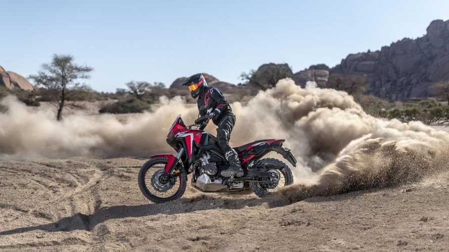 New AirTender Suspension Available For Honda Africa Twin 1100