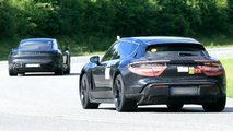 New Porsche Taycan Cross Turismo Spy Photos