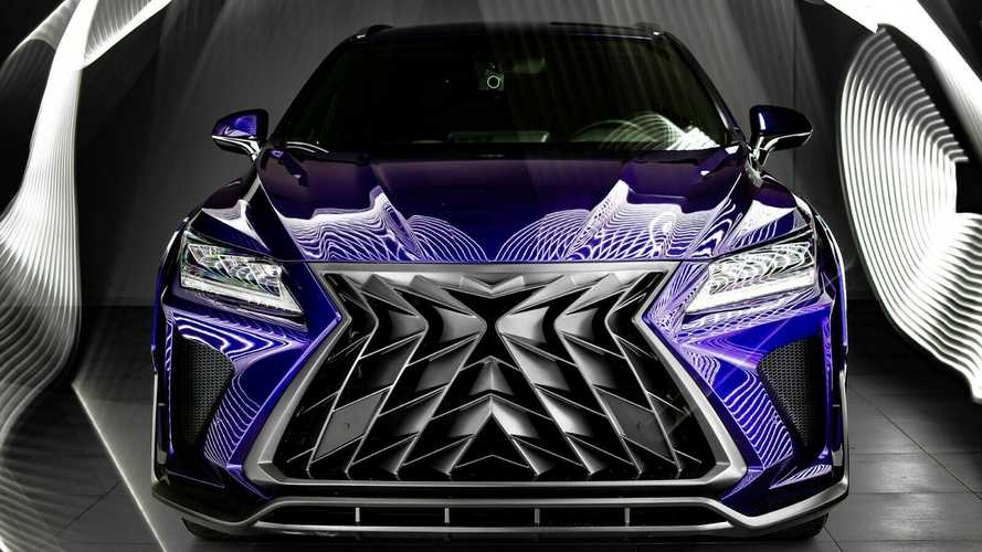 Custom Lexus RX, NX Has The Wildest Grille We've Ever Seen