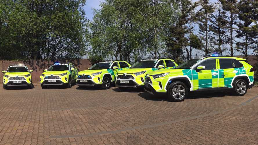 Toyota RAV4 joins Welsh Ambulance Services NHS Trust
