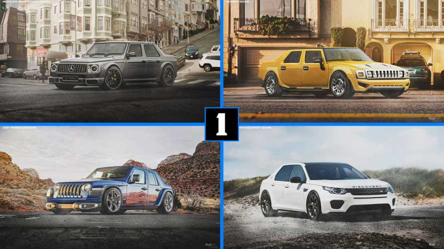 These SUVs-Turned-Sedans Honor The Decline Of The Passenger Car