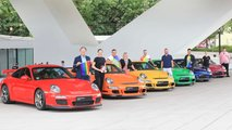 Porsche Gay Pride Rainbow 911s