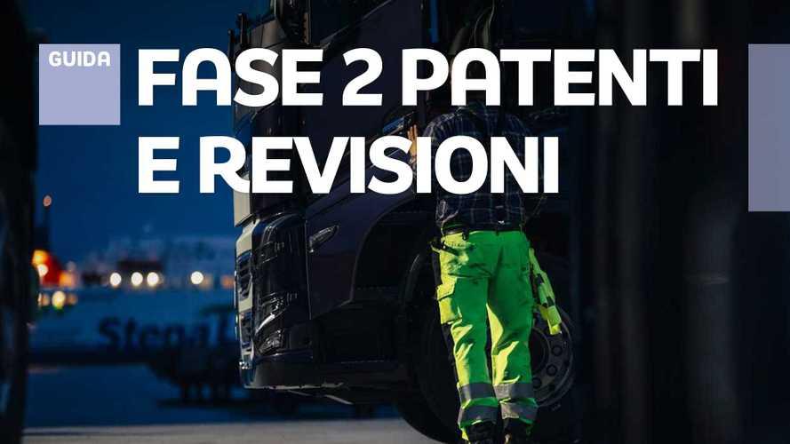 Fase 2, revisione e patenti, cosa si può fare dal 4 maggio 2020