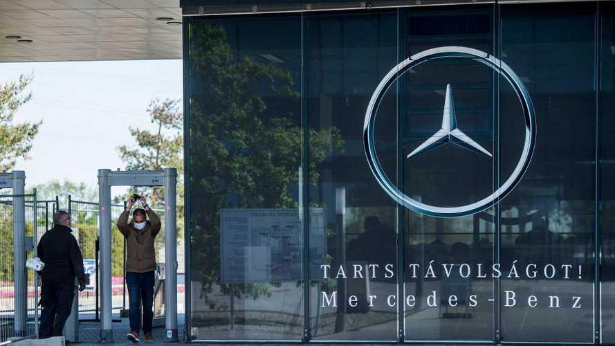 Komoly óvintézkedések léptek érvénybe a kecskeméti Mercedes-gyárban