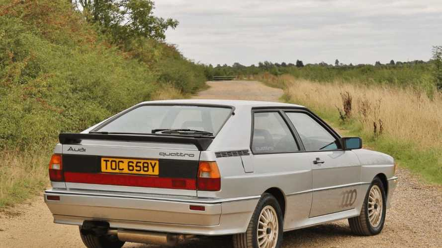Rare pre-production Audi Quattro prototype sells for £49,500 at auction