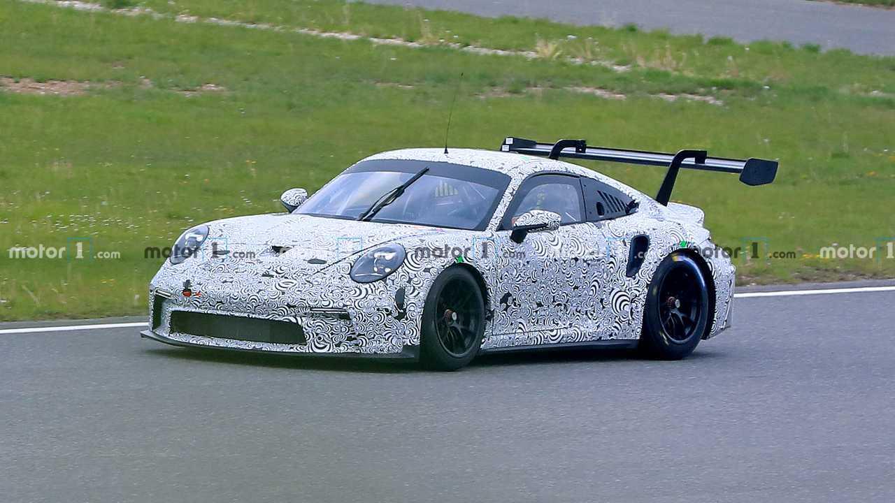 Porsche 911 GT3 Race Car