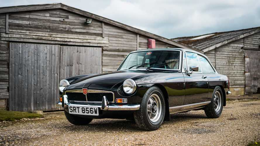 Superb Rare MGB Heading To Auction