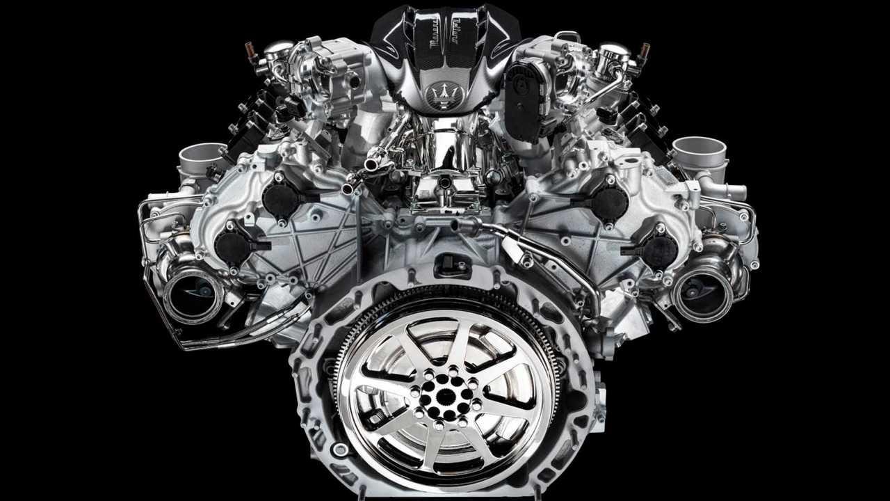 Maserati Nettuno V6 motor
