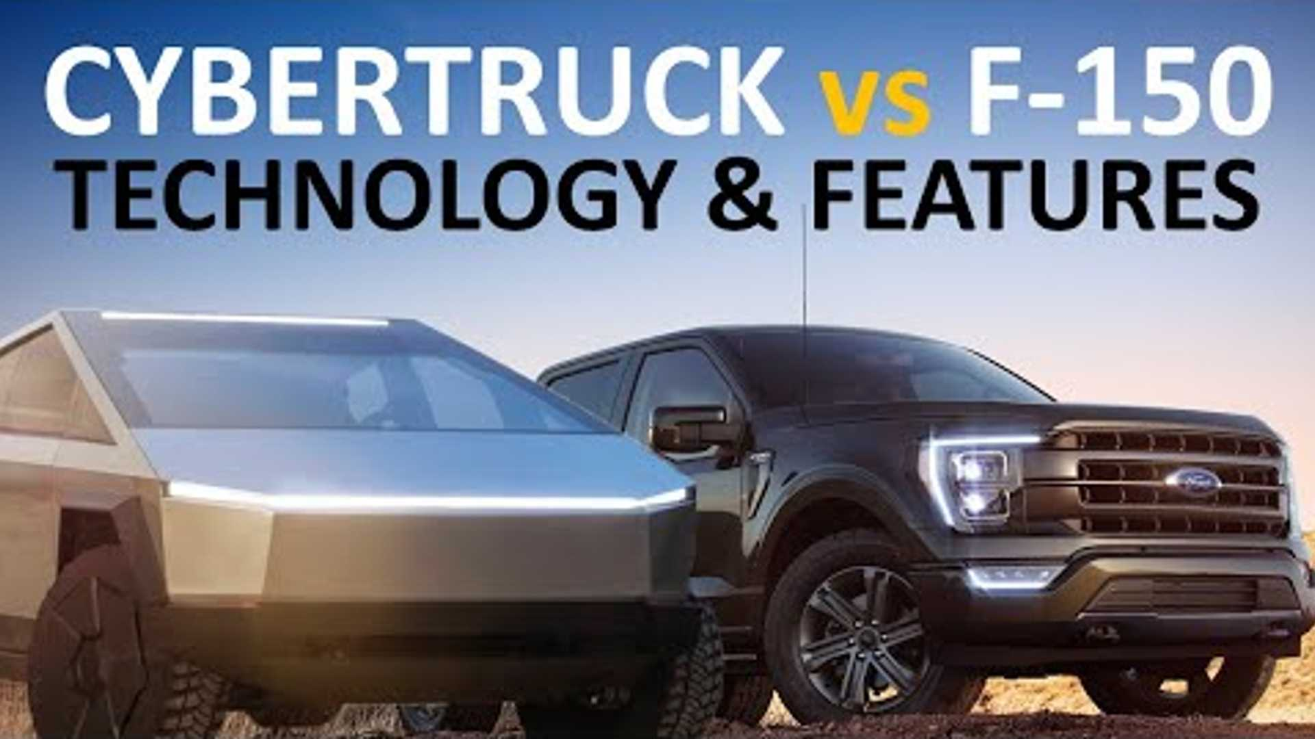 Tesla Cybertruck Vs Redesigned 2021 Ford F-150: How Do ...