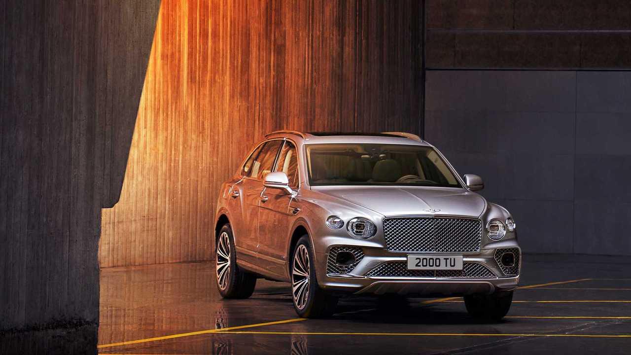 2020 Bentley Bentayga (makyaj)