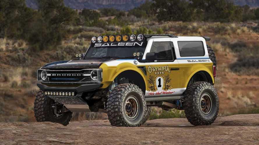 Saleen ya prepara un brutal Ford Bronco 2021, al estilo Baja