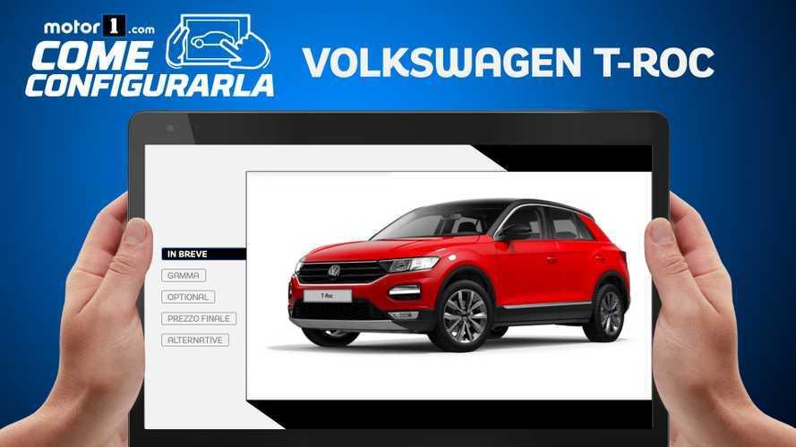 Volkswagen T-Roc, come configurare la 1.5 benzina con cambio automatico