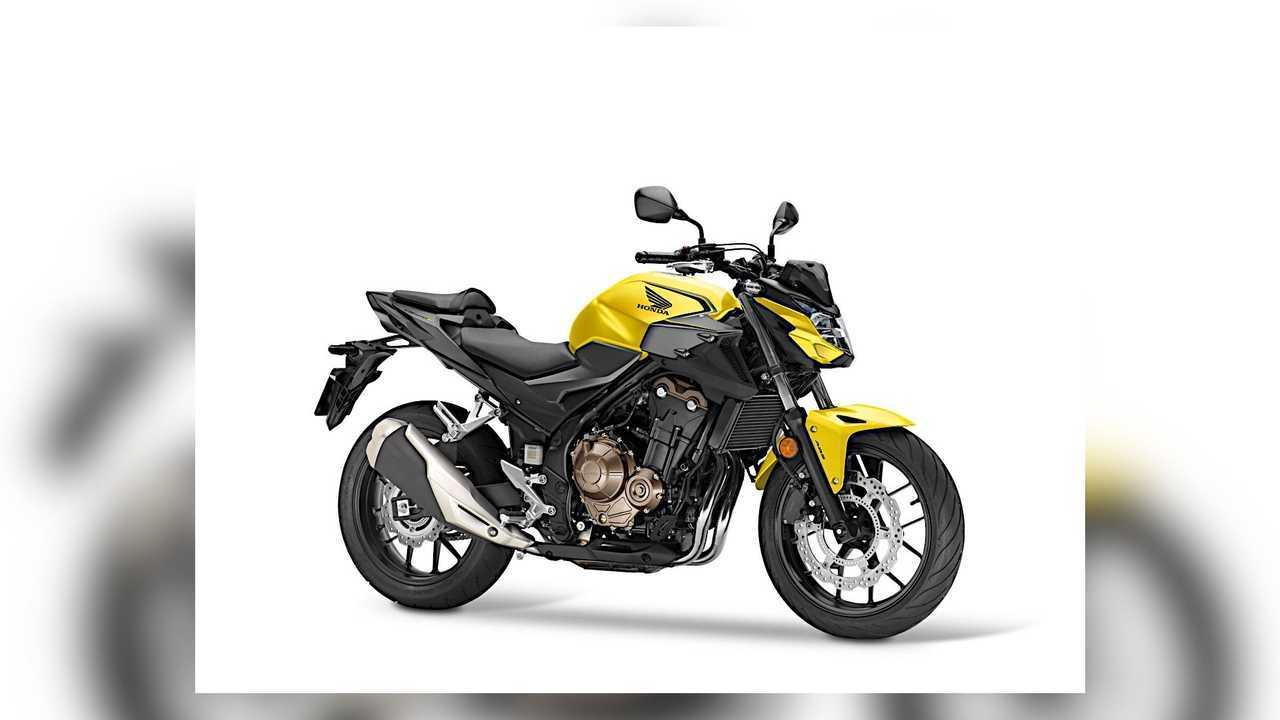 2021 Honda CB500F Yellow