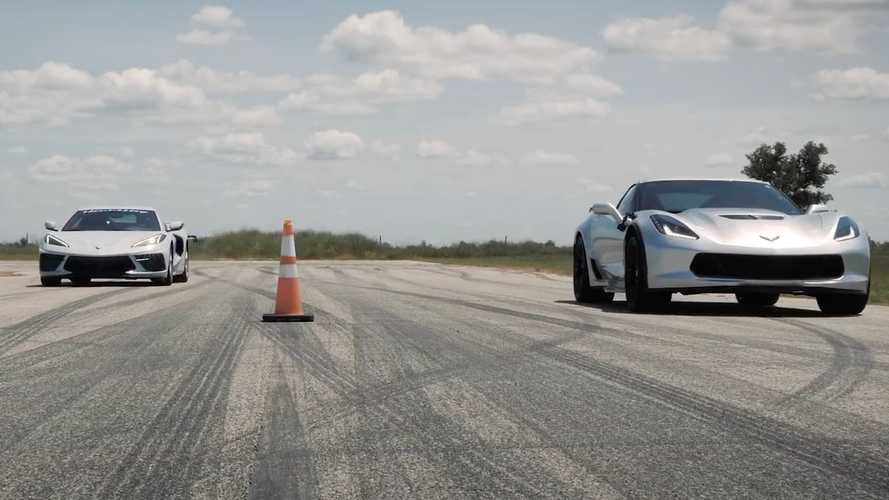 Hennessey Corvette C7 Roll Races Stock C8