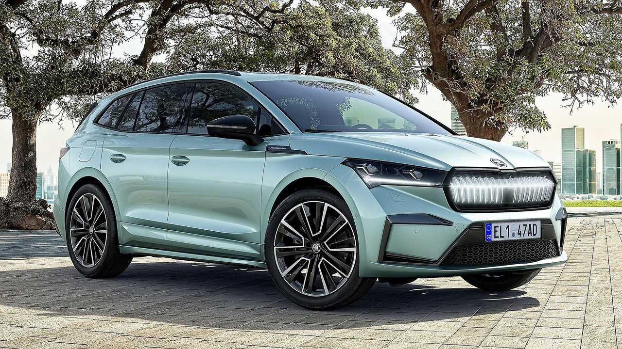 Skoda Enyaq iV Founders Edition - destaque