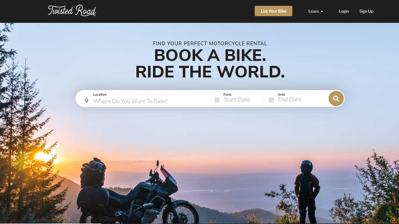 Twisted Road Motorcycle Rentals