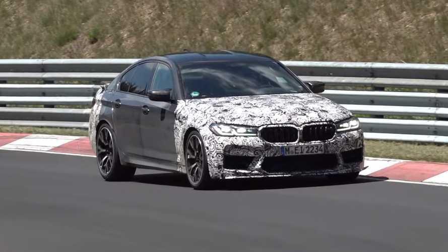 VIDÉO - La BMW M5 CS fait ses armes sur la Nordschleife