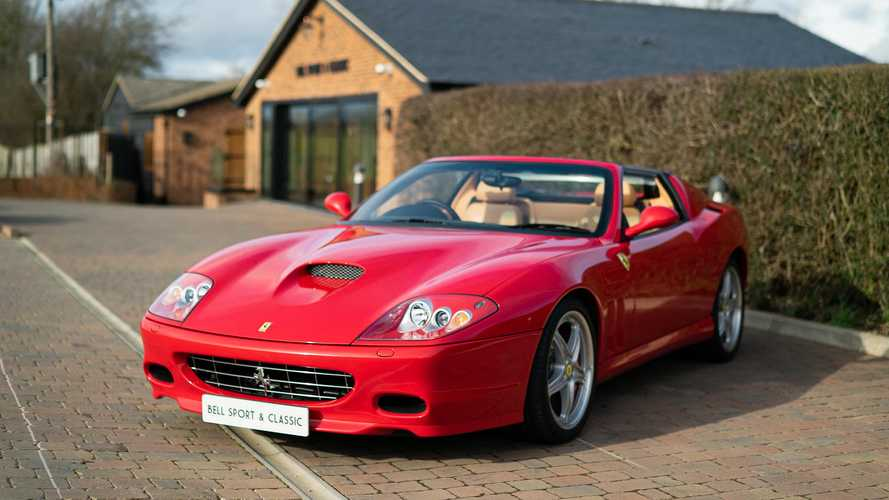 Incredibly rare RHD Ferrari Superamerica goes on sale