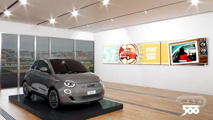 La Fiat 500 elettrica arriva nei concessionari e in una mostra speciale