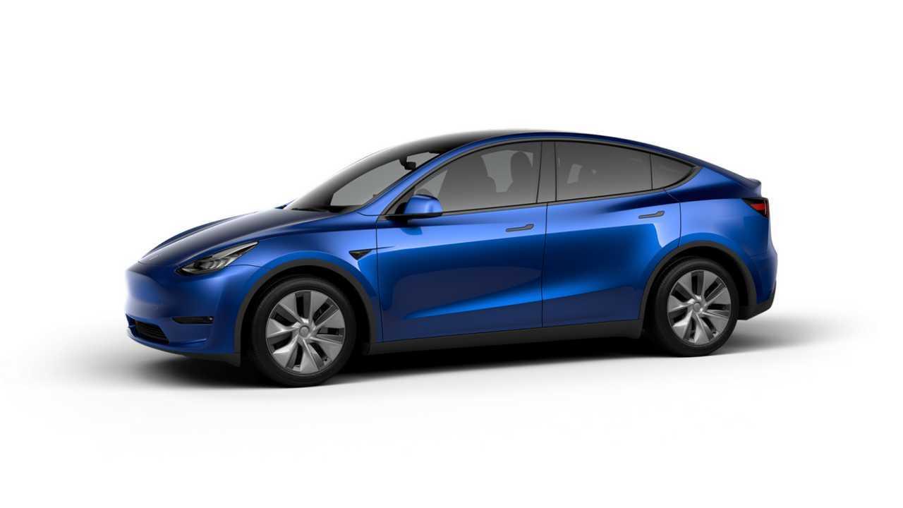 Tesla Model Y (design studio China) - LR AWD version with 19'' Gemini Wheels