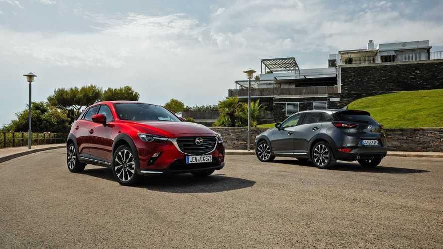 Mazda CX-3, con il restyling si aggiorna nei motori e nelle dotazioni