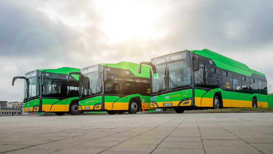Poland: Solaris Receives Order For Another 37 EV Buses