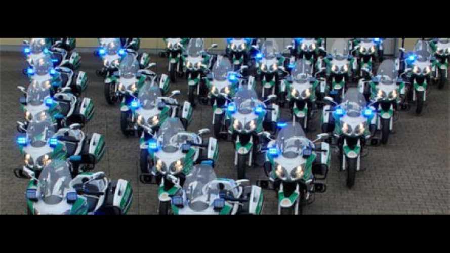 35 Moto Guzzi Norge alla Polizia di Berlino
