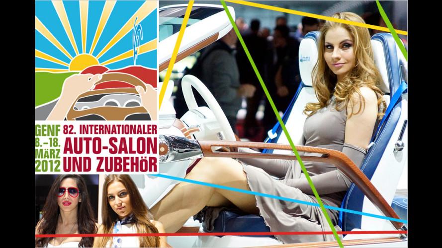 Genfer Autosalon 2012: Die heißesten Girls