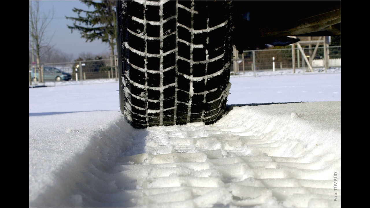 Verstoß gegen die Winterreifenpflicht