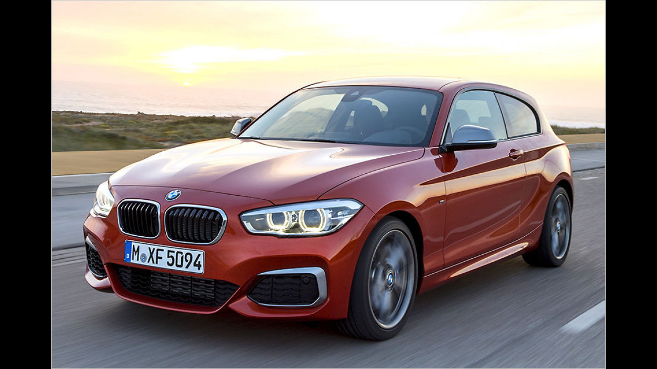 BMW M135i: 326 PS