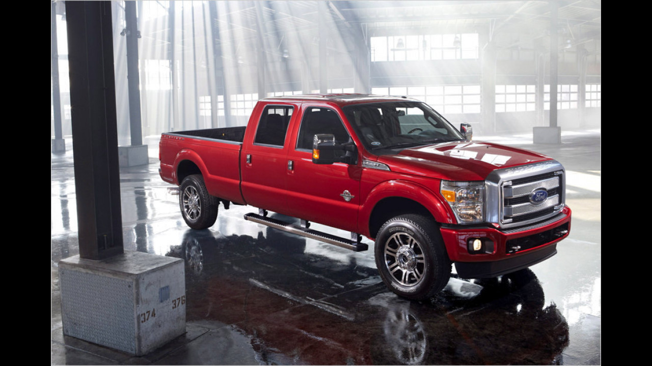 Ford Super Duty Platinum