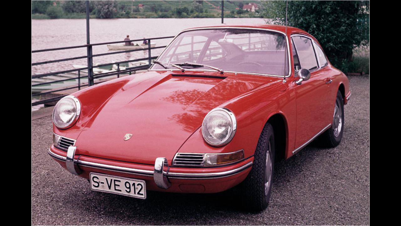 Der erste Porsche 912 (1965 bis 1969)